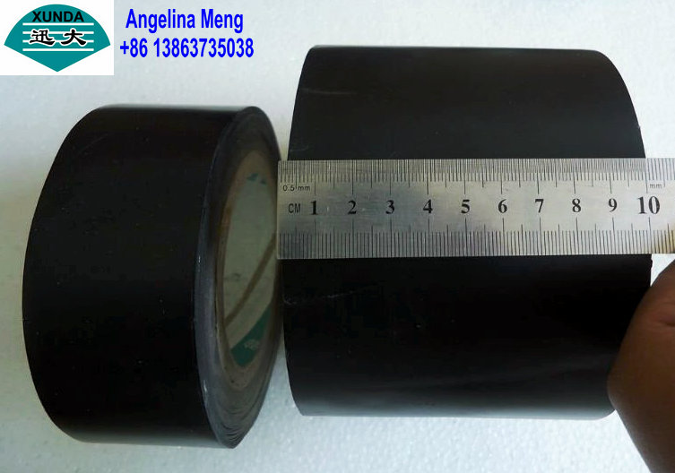 Black polyolefin inner-layer tape
