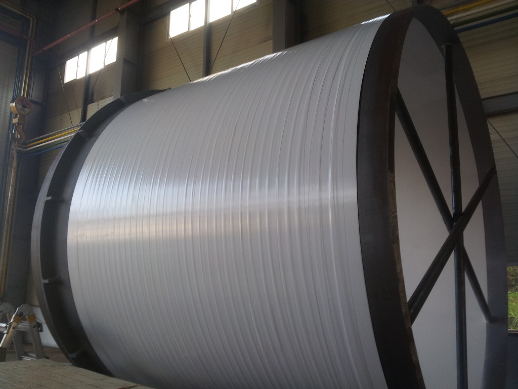 Polyethylene tape white color for  mechanical protection of steel pipe