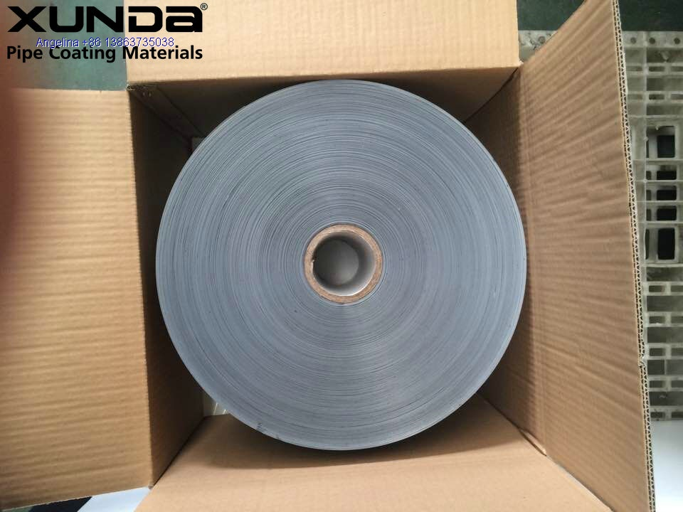 PE pipe wrapping tape for steel tube as corrosion protection mateirals