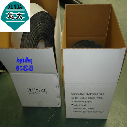 white PE butyl tape