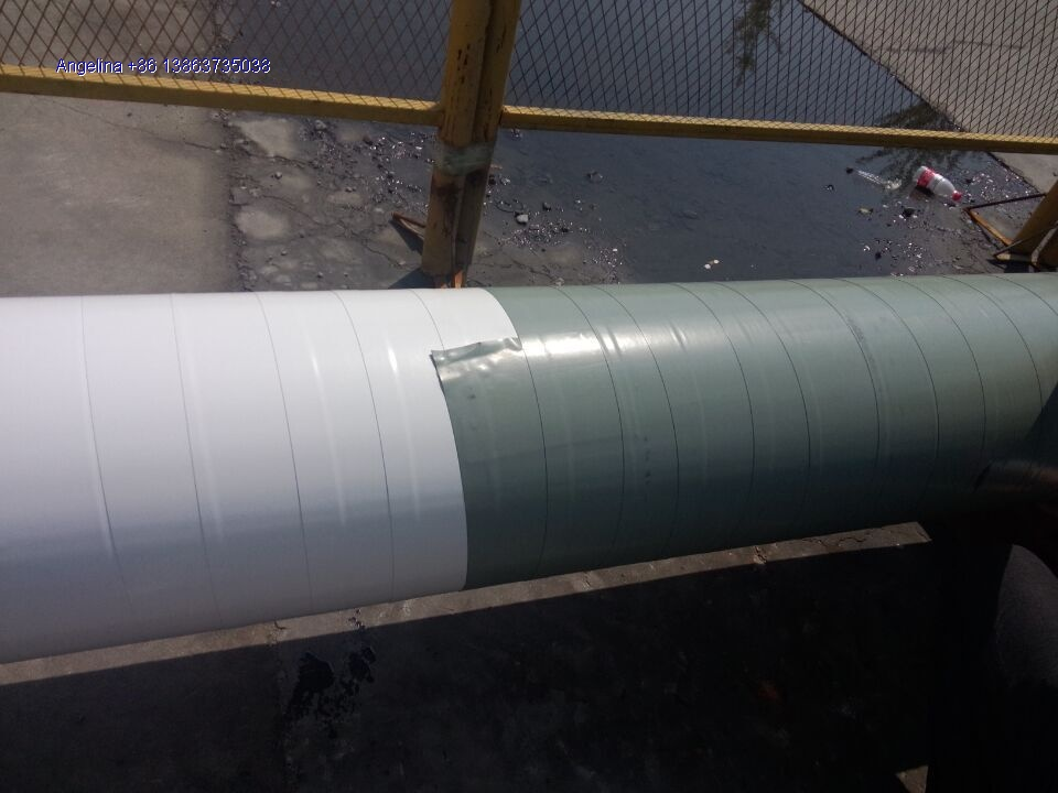 AWWA C 214 pipe coating system