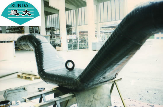Black & white Pipe Wrapping tape for natural gas pipe