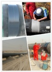 Buried pipe Field weld joints coating tape